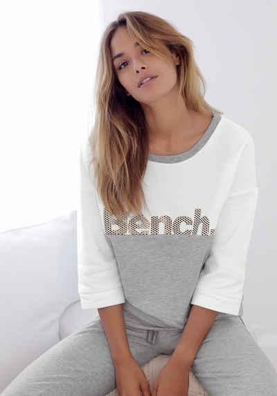 Bench. Sweatshirt im Color Blocking Design e01ae05769