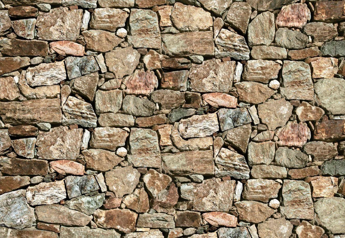 Fototapete »Steinmauer«, 368/254 cm
