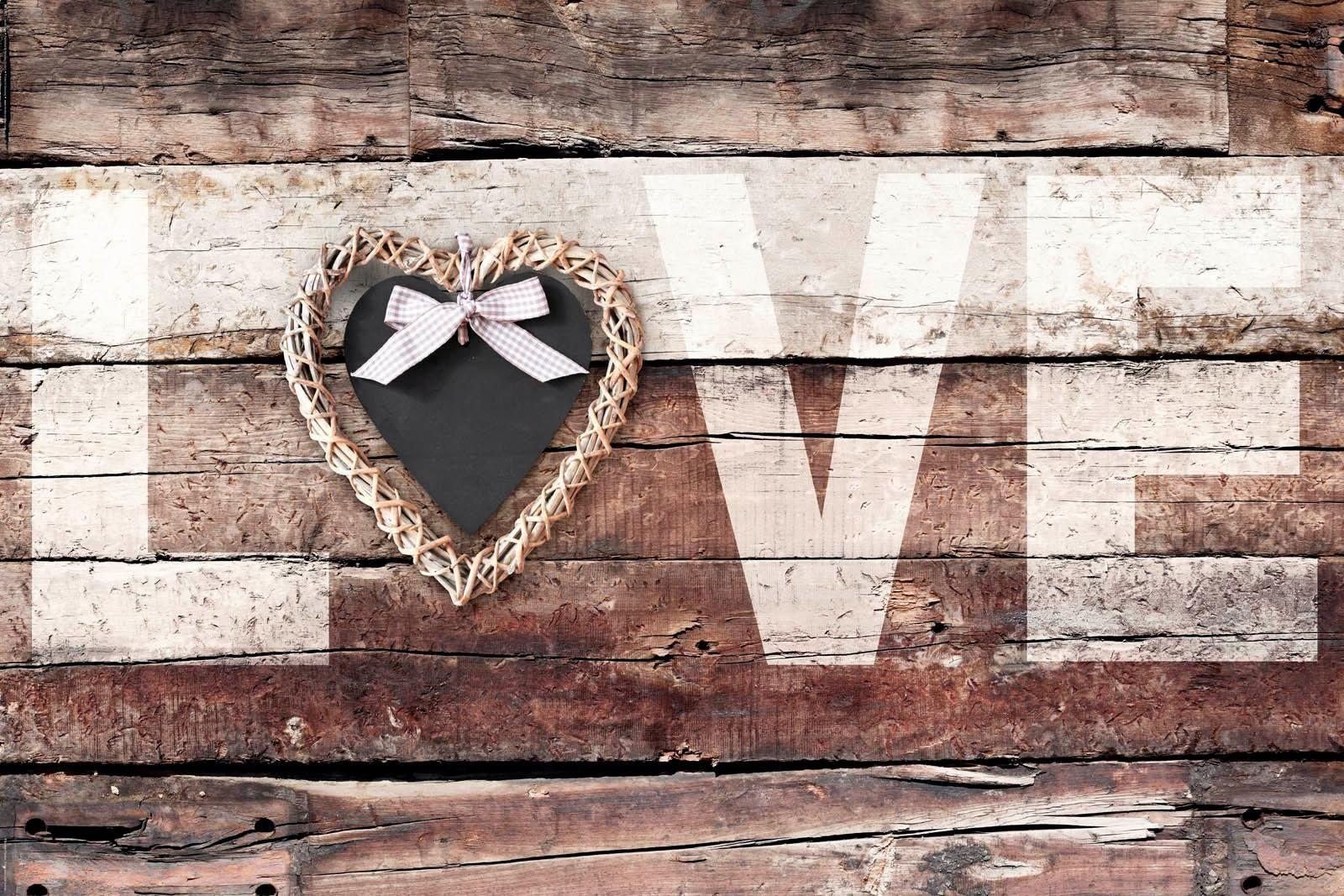 Deco-Panel »Love Vintage Stil«, 90/60 cm