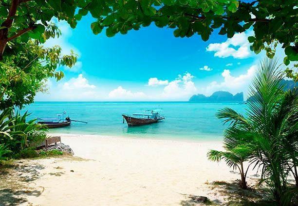 Fototapete »Phi Phi Insel Thailand« 366/254 cm
