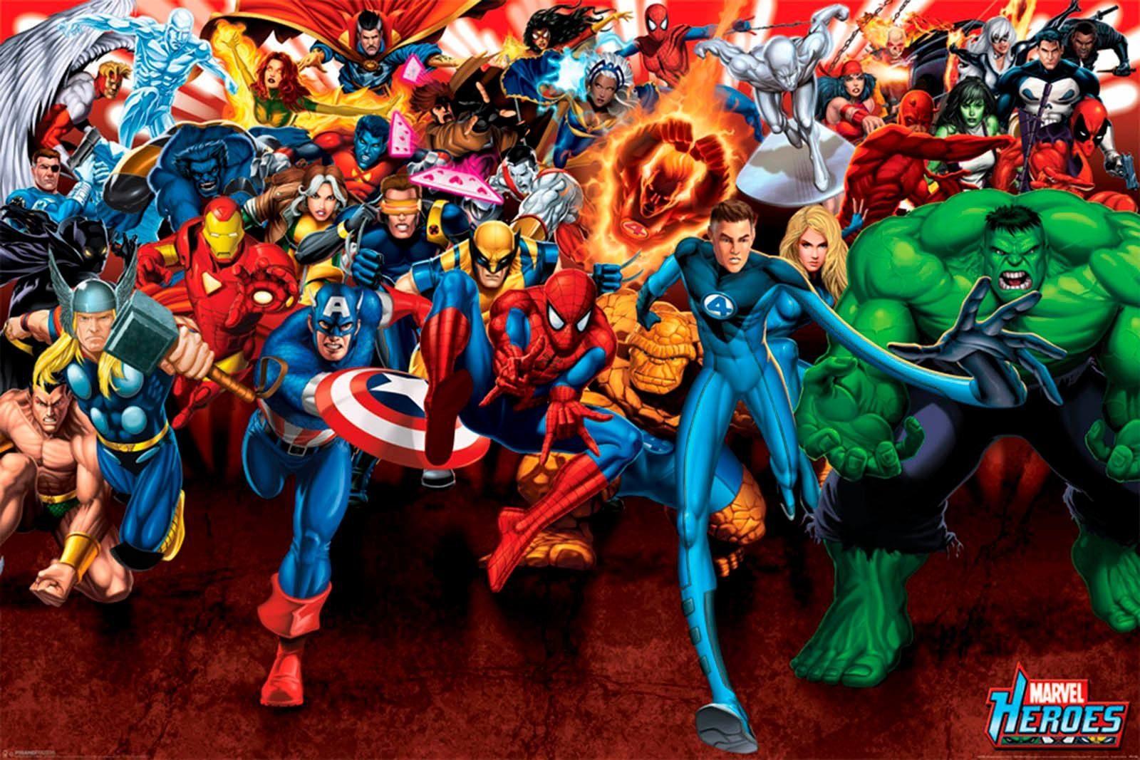 Deco Panel »Marvel« 90/60 cm