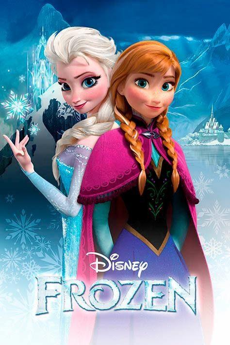 Deco-Panel »Disney´s Frozen«, Filmplakat, 60/90 cm