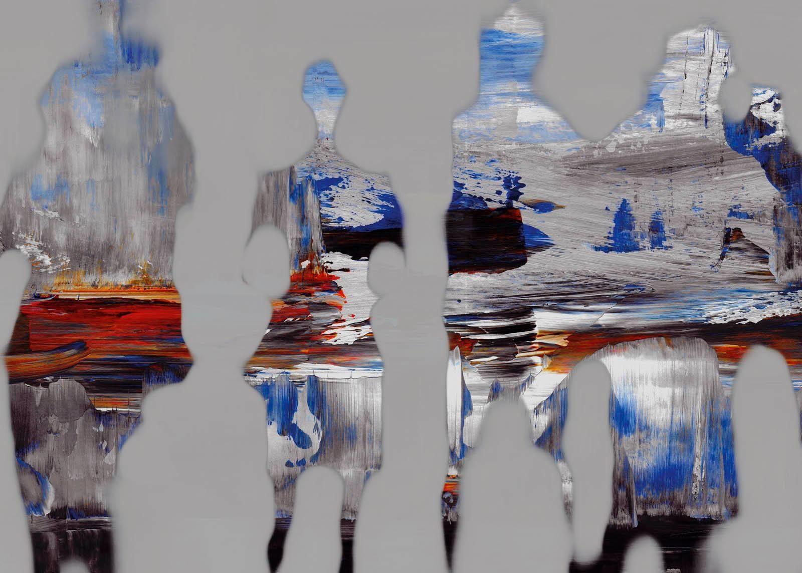 Giclee Fine Art »Farbe« 140/100 cm