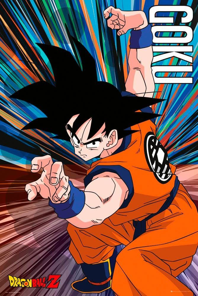 Deco-Panel »Dragon Ball Z«, Filmplakat, 60/90 cm