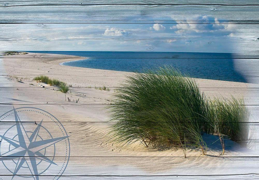 Fototapete »Nautischer Strand« 254/184 cm