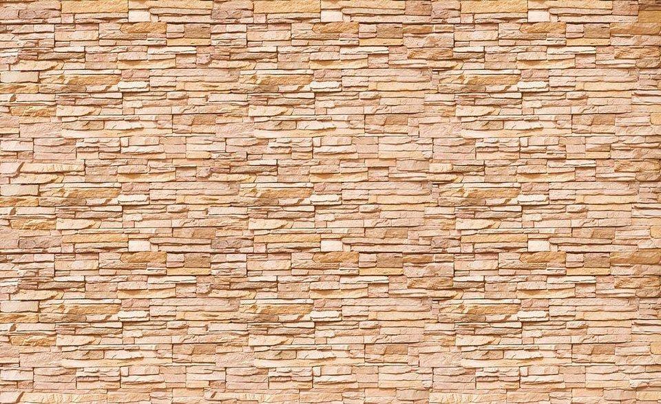 Fototapete »Steinmauer« 254/184 Cm Online Kaufen | Otto
