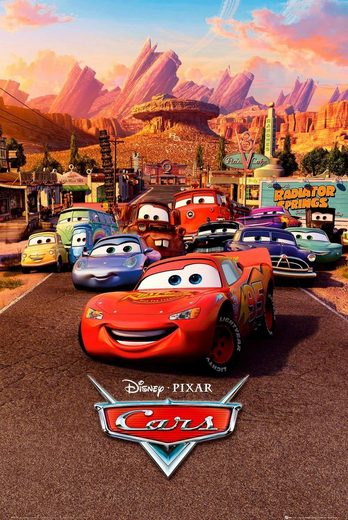 Deco-Panel »Disney`s Cars«, 60/90 cm