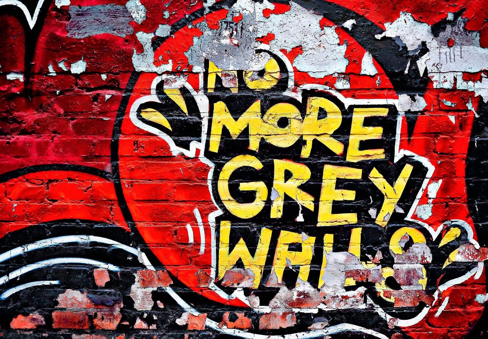 Fototapete »No More Grey Walls« 366/254 cm
