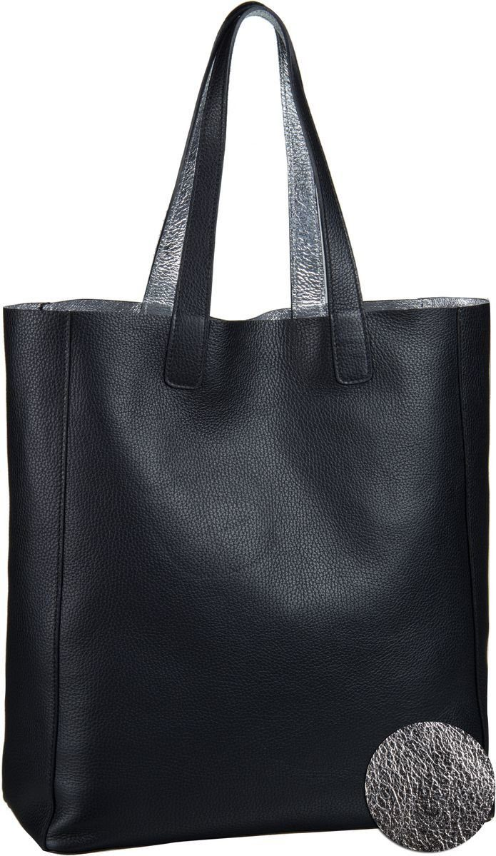 Abro CALF DOUBLE 27875 - Handtasche - black