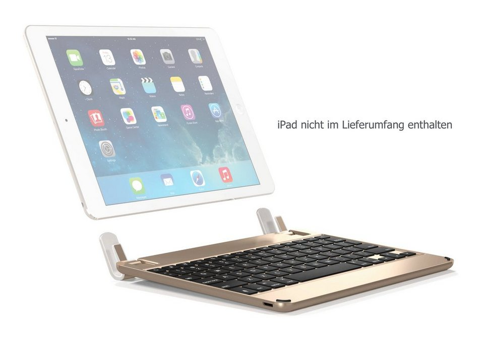 brydge bluetooth tastatur f r ipad air pro 9 7 und new. Black Bedroom Furniture Sets. Home Design Ideas
