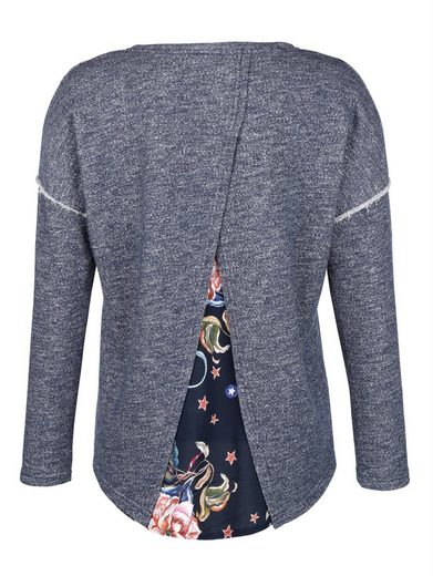 Alba Moda Sweatshirt in Patchoptik