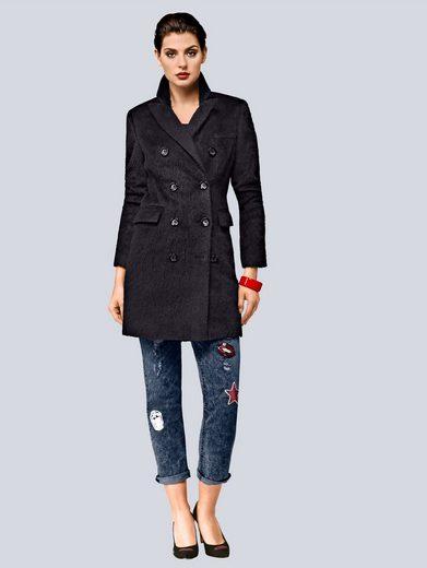 Alba Moda Mantel aus edlem Material