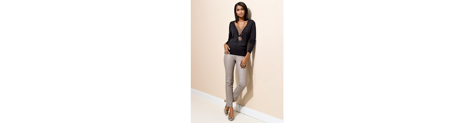 Alba Moda Pullover in modischer 2-in-1-Optik Billig Store jK6AZ