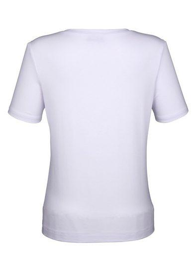 Amy Vermont Shirt mit Paillettenstickerei
