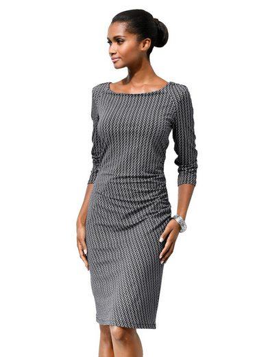 Alba Moda Jerseykleid in grafischem Allover-Print