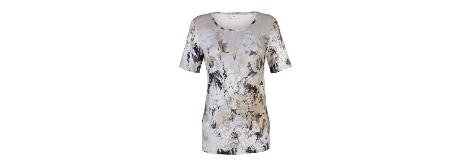 Billigpreisnachlass Authentisch Sonnenschein Mona Shirt in gebatiktem Druckdessin Spielraum Bester Großhandel DwNr0