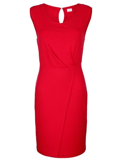 Alba Moda Kleid mit Wickel-Effekt