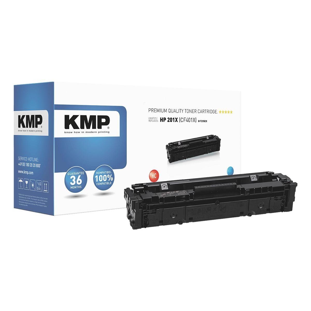 KMP Toner ersetzt HP »CF401X«