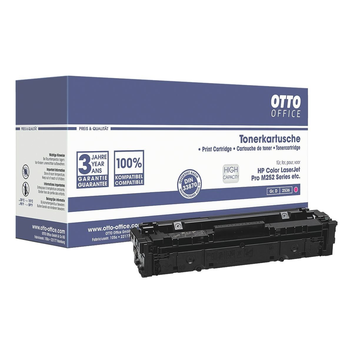 OTTOOFFICE STANDARD Toner ersetzt HP HP 201X »CF403X«