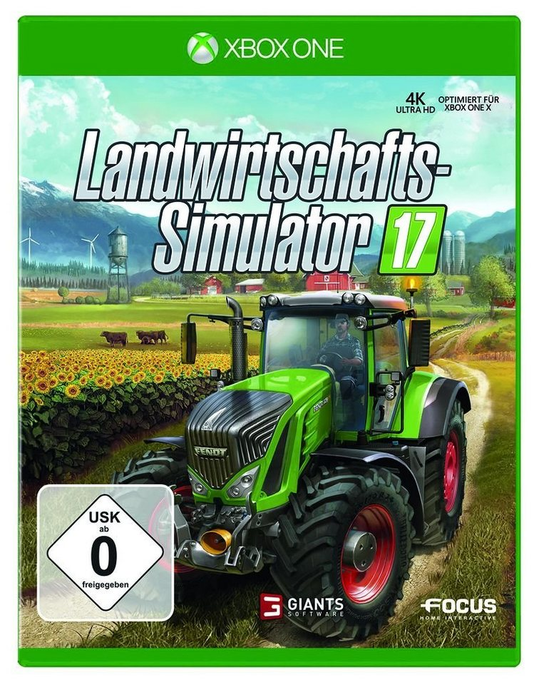 astragon xbox one spiel landwirtschafts simulator 17. Black Bedroom Furniture Sets. Home Design Ideas