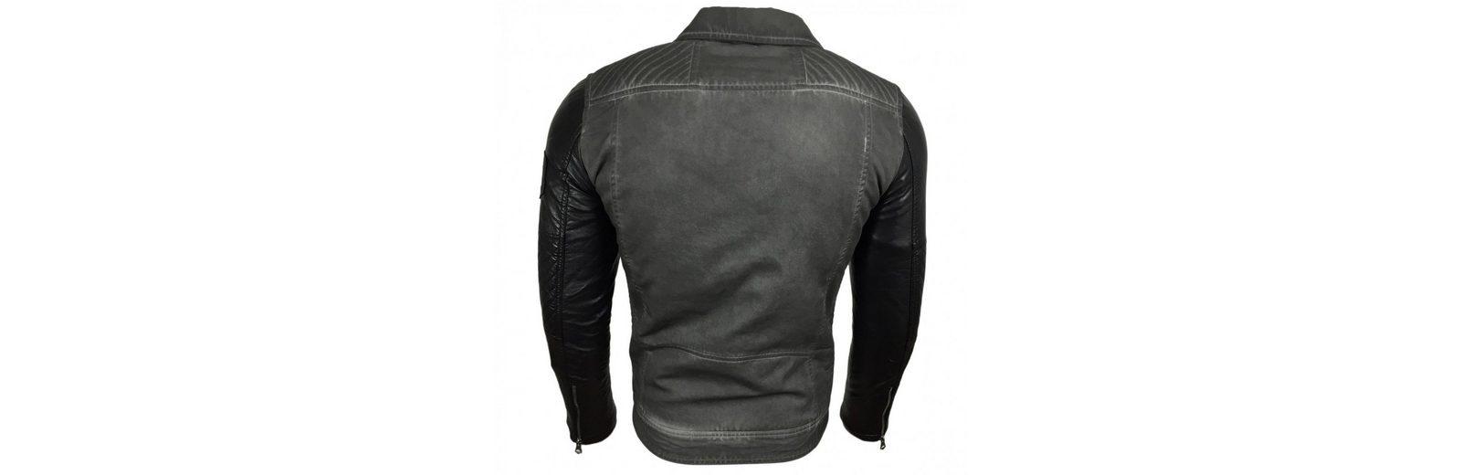 Aus Deutschland Verkauf Online Billig Verkauf Am Besten Rusty Neal Kunstlederjacke mit seitlichem Reißverschluss lmVIY76