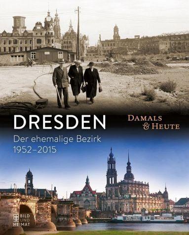 Gebundenes Buch »Dresden damals und heute«