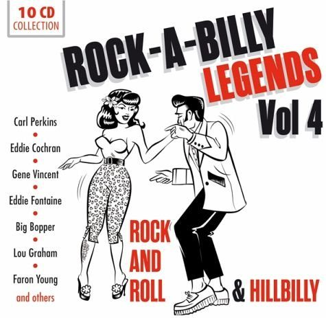Audio CD »Various: Rock'A'Billy Vol.4«