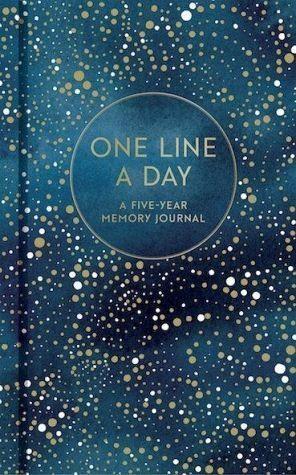 Gebundenes Buch »One Line a Day (Celestial)«