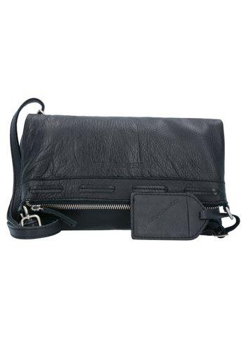 Damen,Kinder,Jungen Cowboysbag Pantego Umhängetasche Leder 26 cm schwarz | 08718586580862