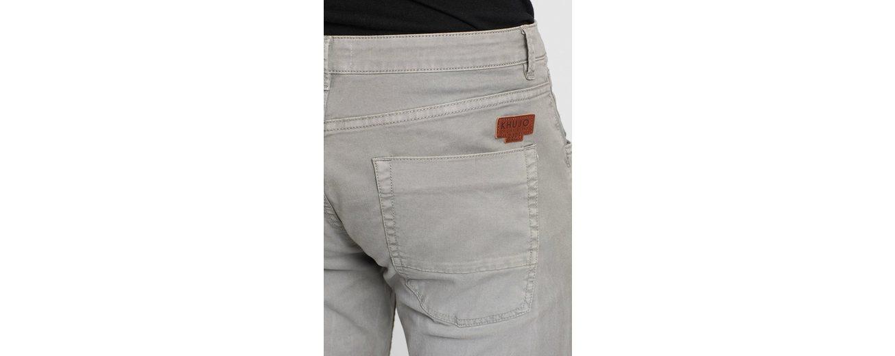 khujo 5-Pocket-Hose BORIS, in verwaschener Optik