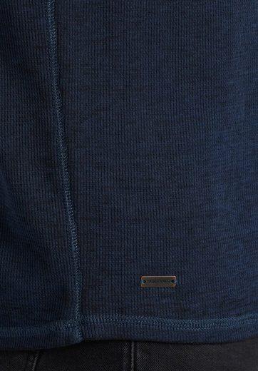 Khujo Langarmshirt Taskar, With Breast Pocket