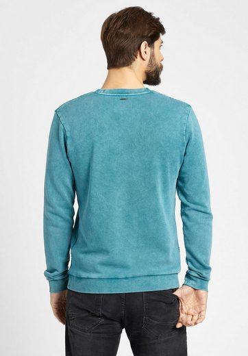 khujo Sweatshirt PRIME, in verwaschener Optik