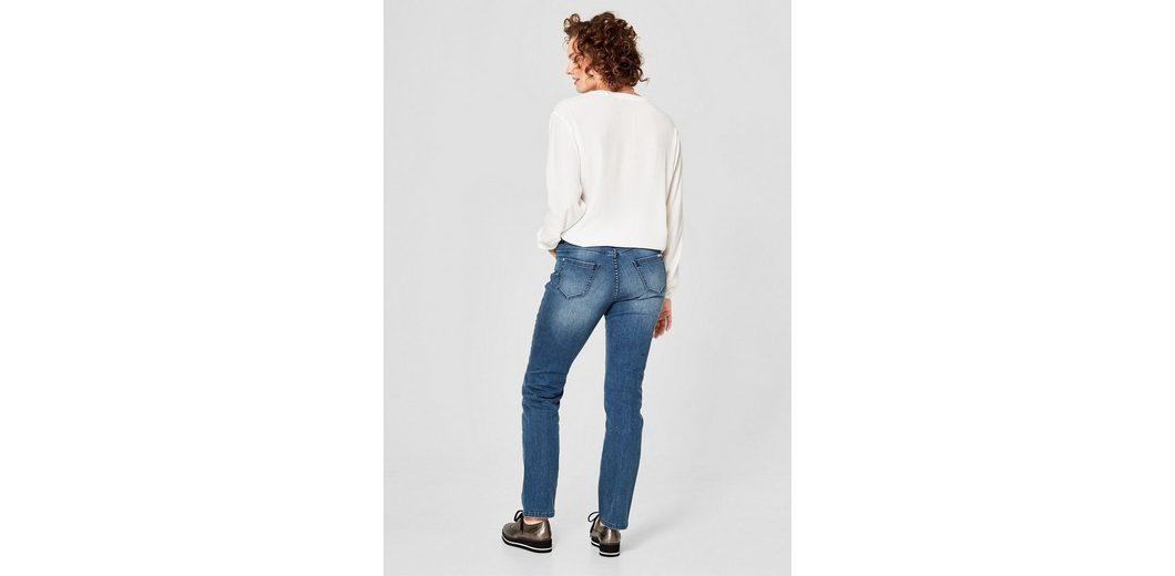 TRIANGLE Curvy Slim: Jeans mit Ziernieten