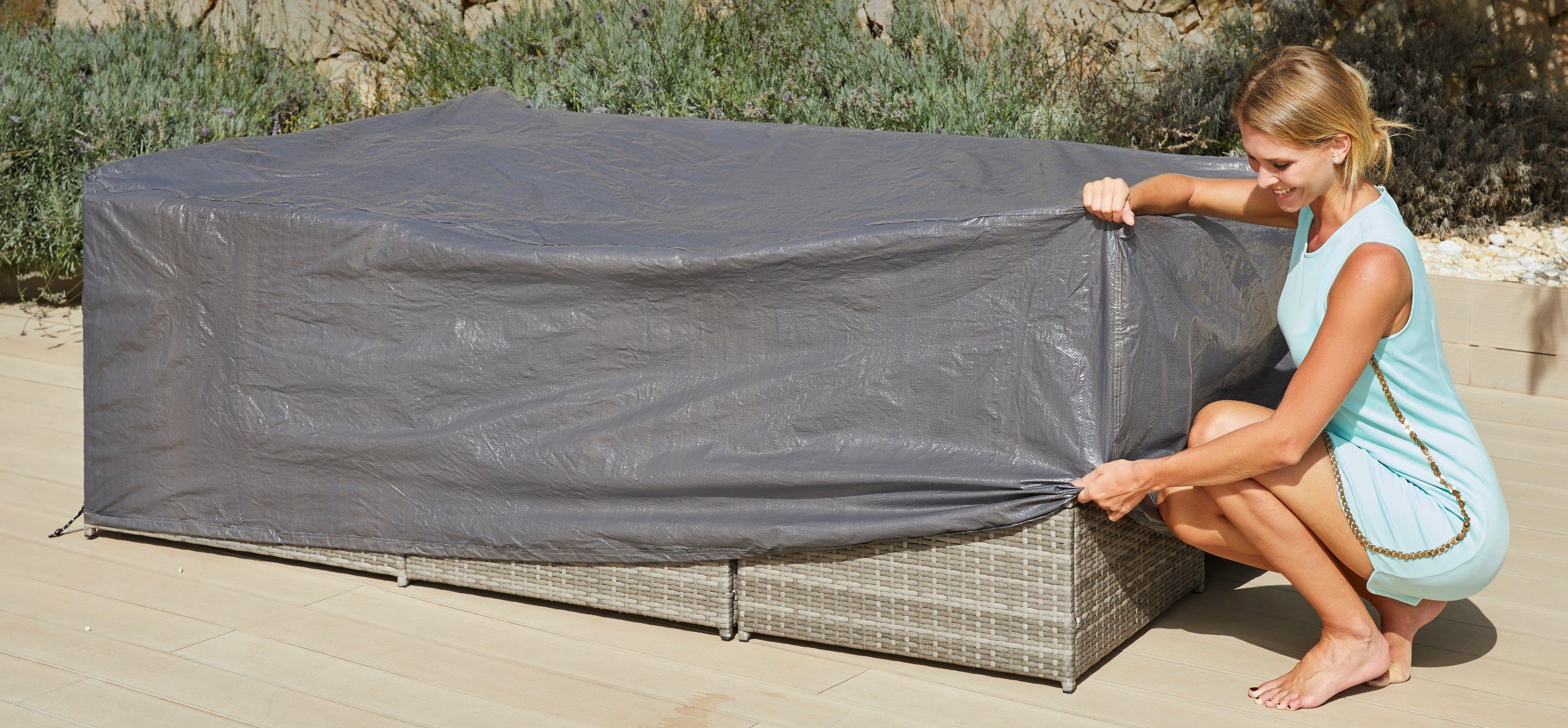KONIFERA Schutzhülle »Phoenix«, Loungeset, 221x144x67 cm