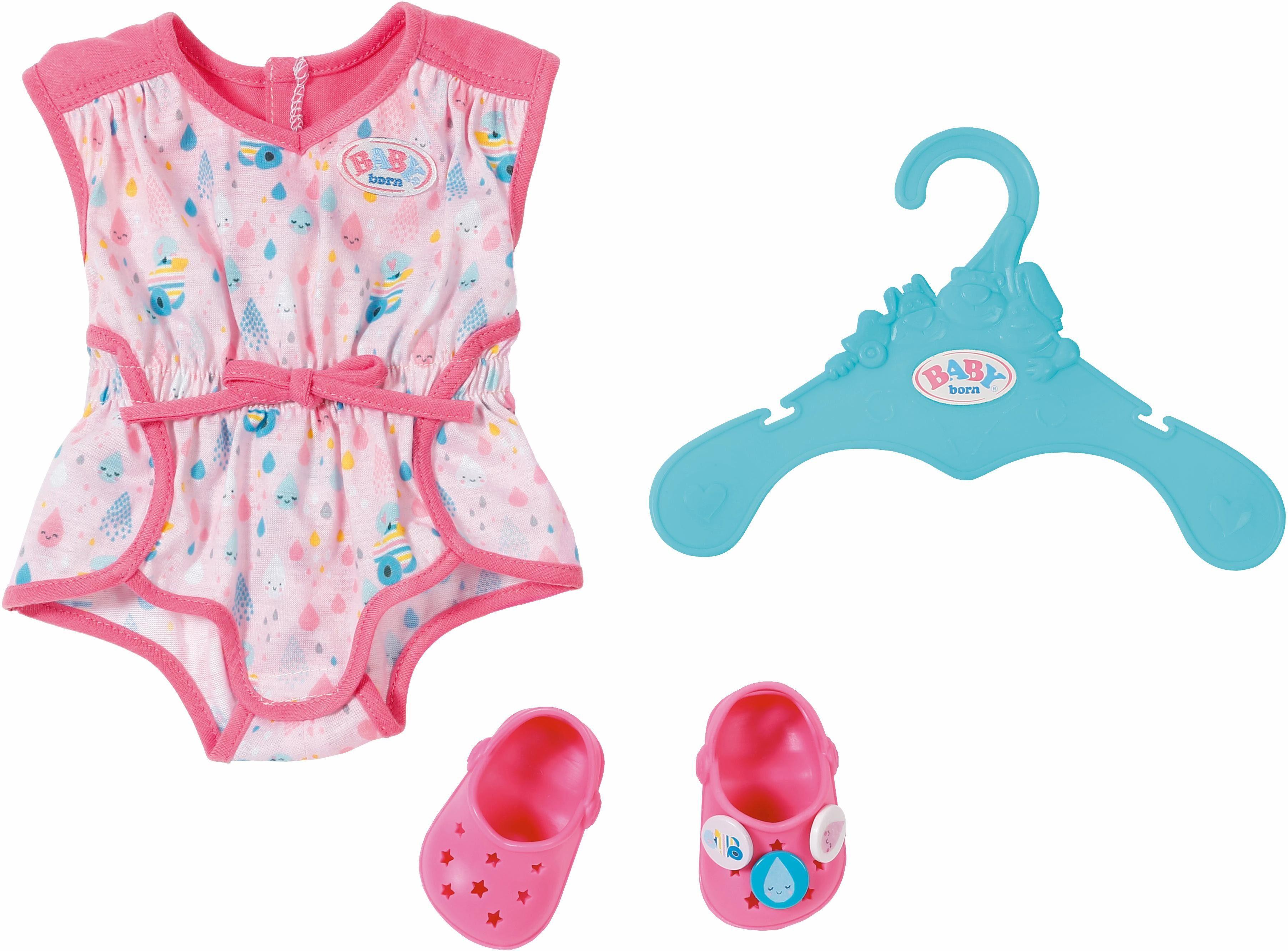 Zapf Creation Puppenkleidung, »BABY born® Shorty Pyjama mit Clogs«