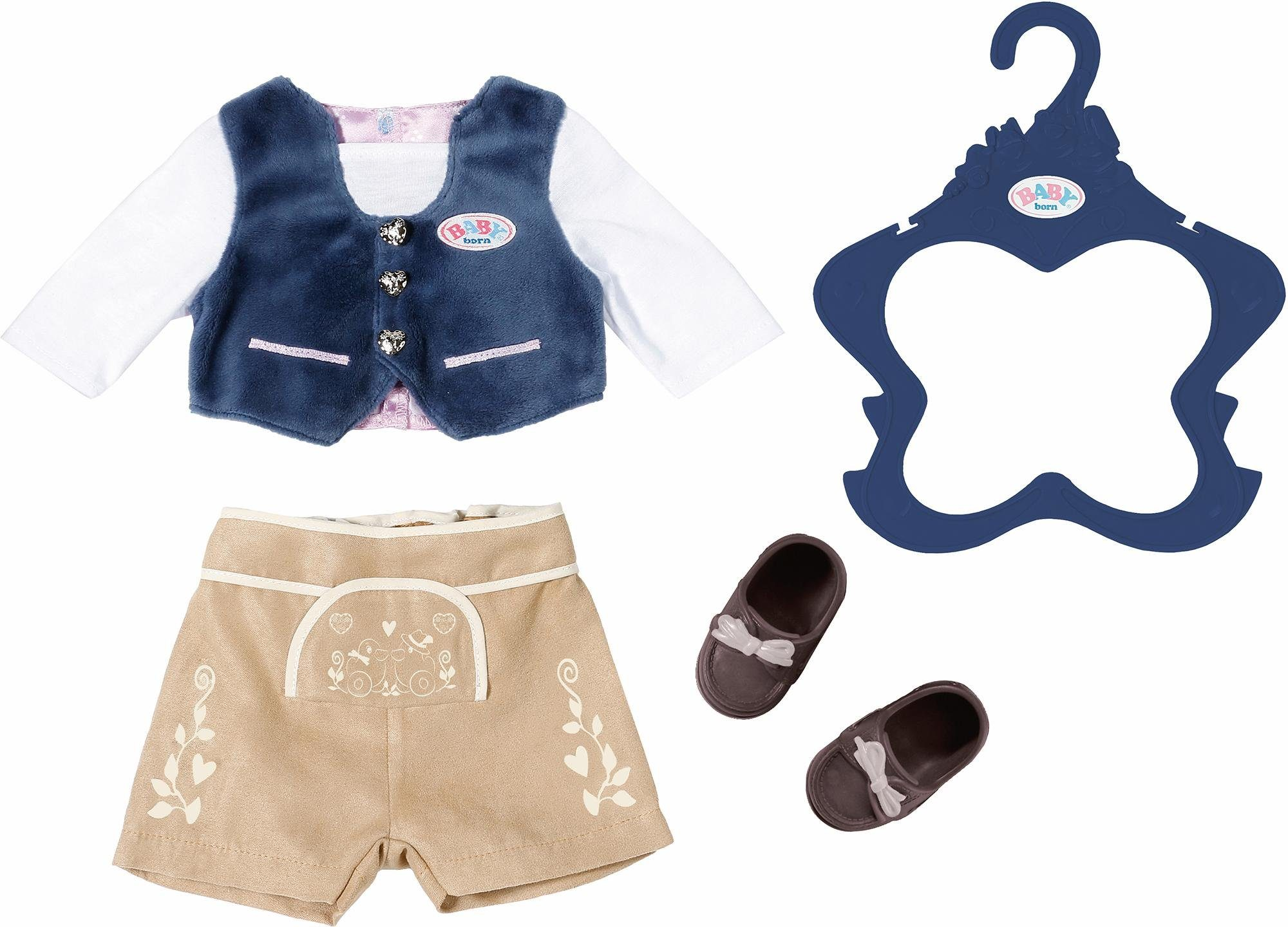 Zapf Creation Puppenkleidung, »BABY born® Trachten-Outfit Junge«