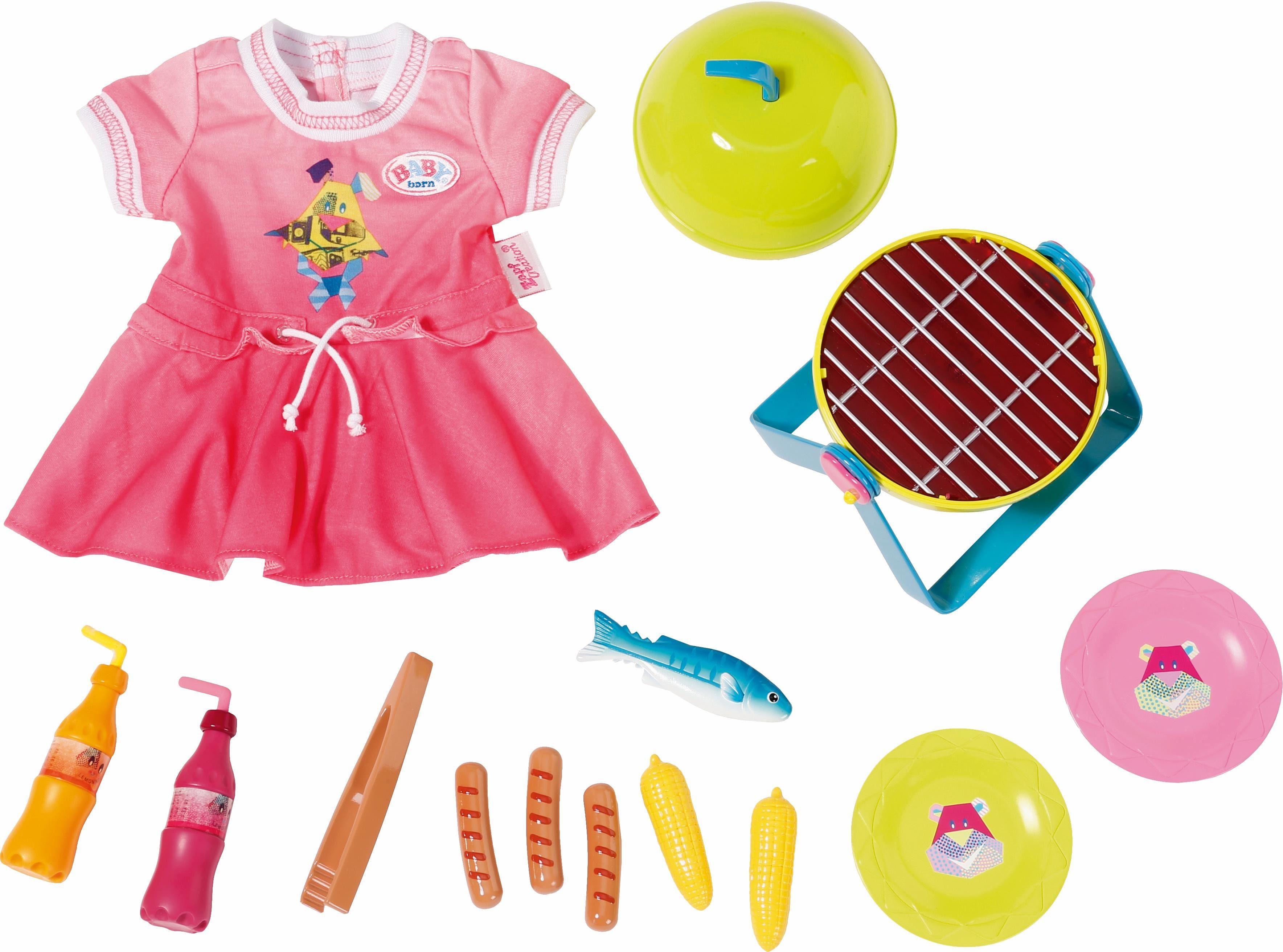 Zapf Creation Puppenkleidung und -zubehör, »BABY born® Play&Fun Grillspaß Set«
