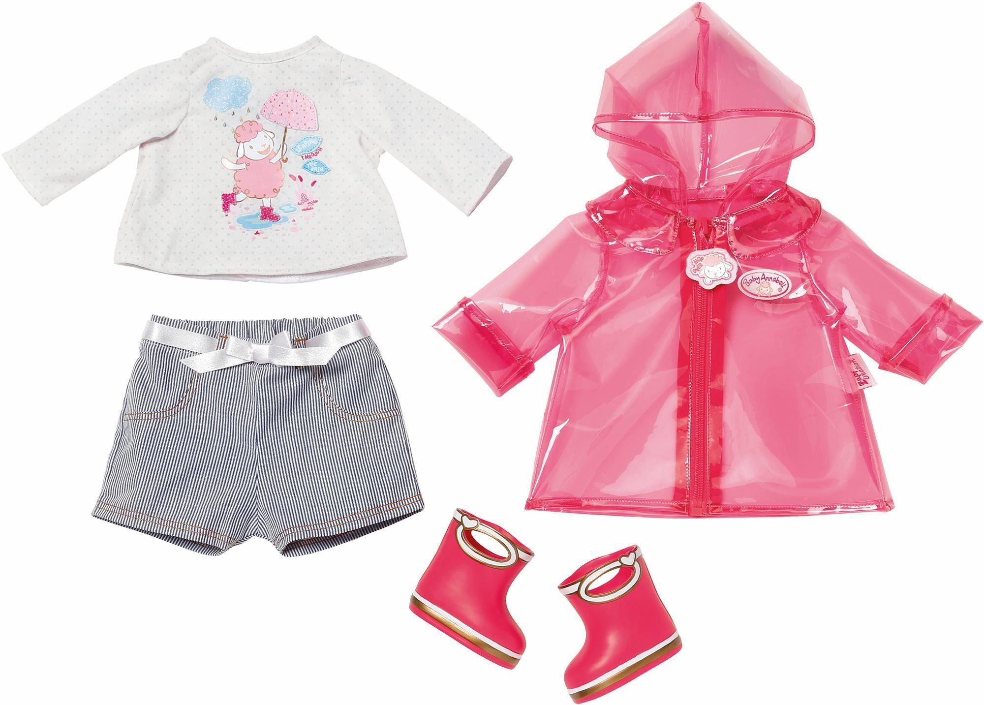Zapf Creation Puppenkleidung Set, »Baby Annabell® Deluxe Regenspaß«