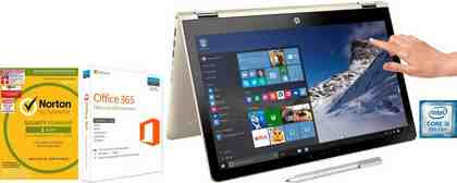 "HP Pavilion x360 15-br101ng/15-br102ng, 15,6"" Touch Convertible Notebook, Intel® Core™ i5"