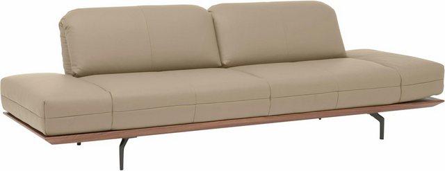 Sofas - hülsta sofa 3 Sitzer »hs.420«, in 2 Qualitäten, Holzrahmen in Eiche Natur oder Nußbaum  - Onlineshop OTTO