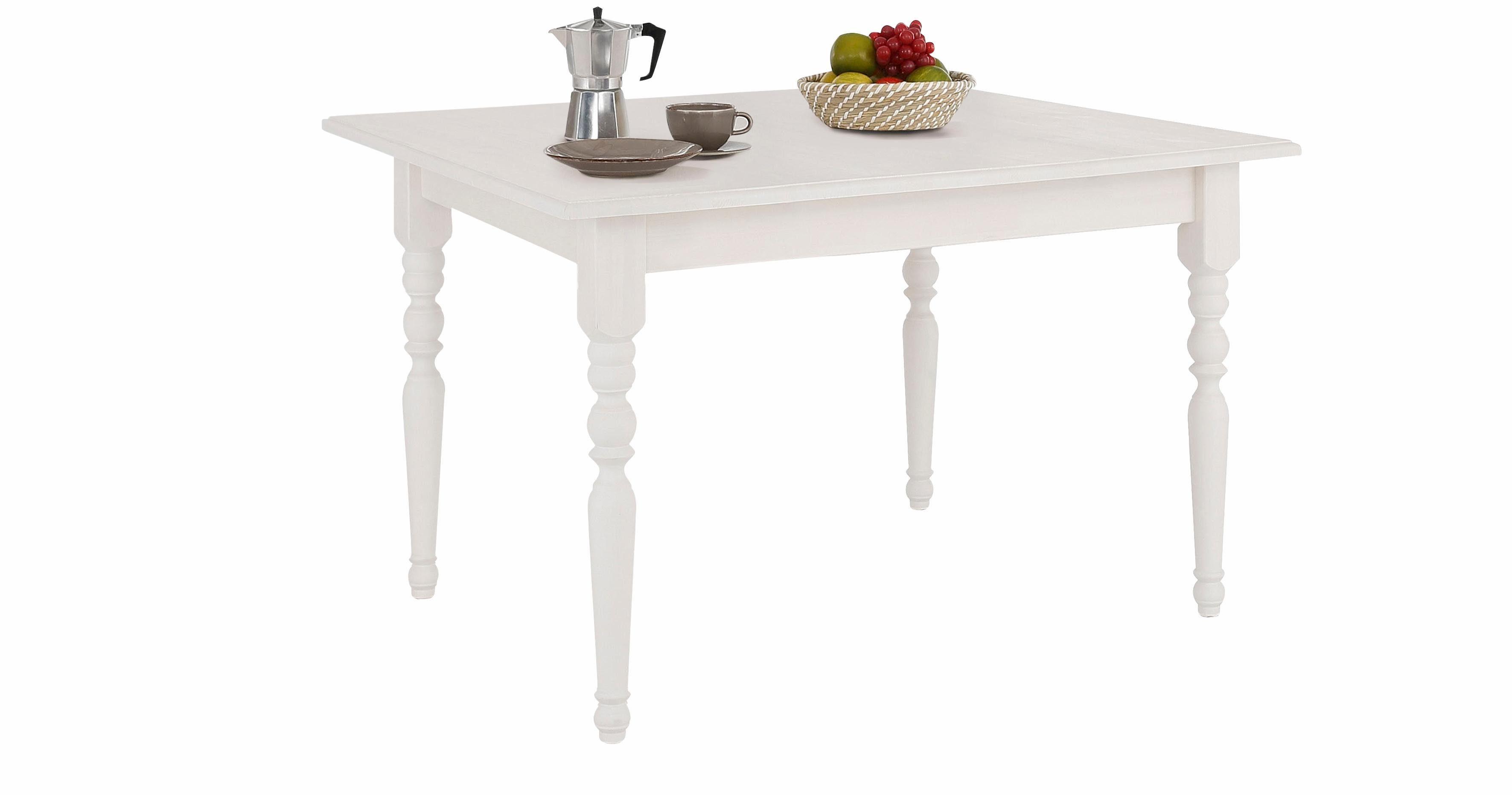 Home affaire Esstisch »Merida«, aus schönem massivem Kiefernholz, in unterschiedlichen Tischbreiten erhältlich, mit und ohne Auszug auswählbar online