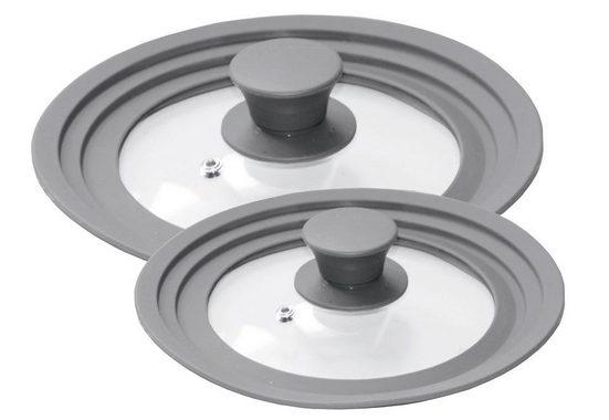 STONELINE Deckel »STONELINE®«, (Set, 2-tlg), für 6 verschiedene Durchmesser