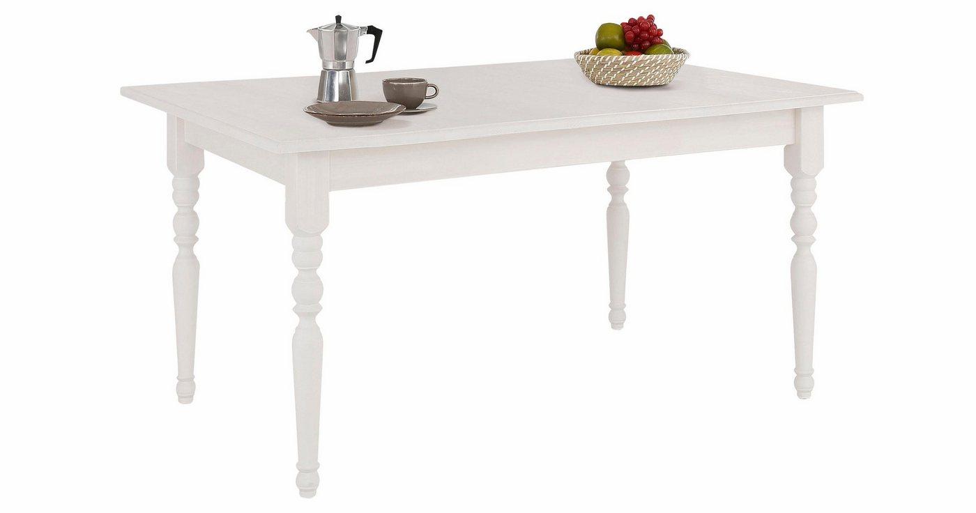 Tische - Home affaire Esstisch »Merida«, wahlweise mit oder ohne Auszugsfunktion  - Onlineshop OTTO