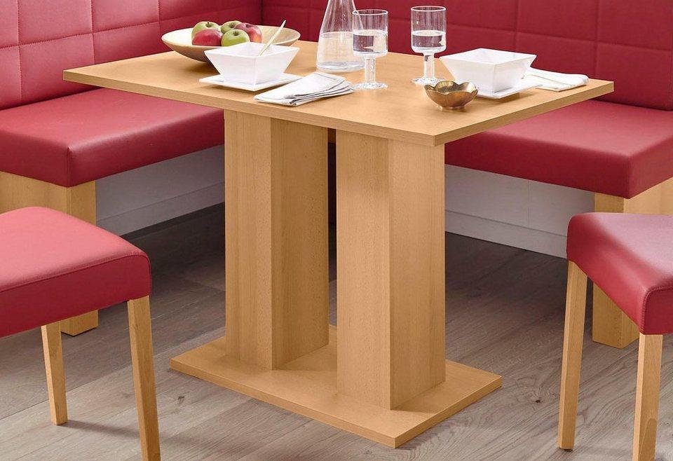 sch sswender 2 s ulen esstisch anna 2 breite 110 cm online kaufen otto. Black Bedroom Furniture Sets. Home Design Ideas