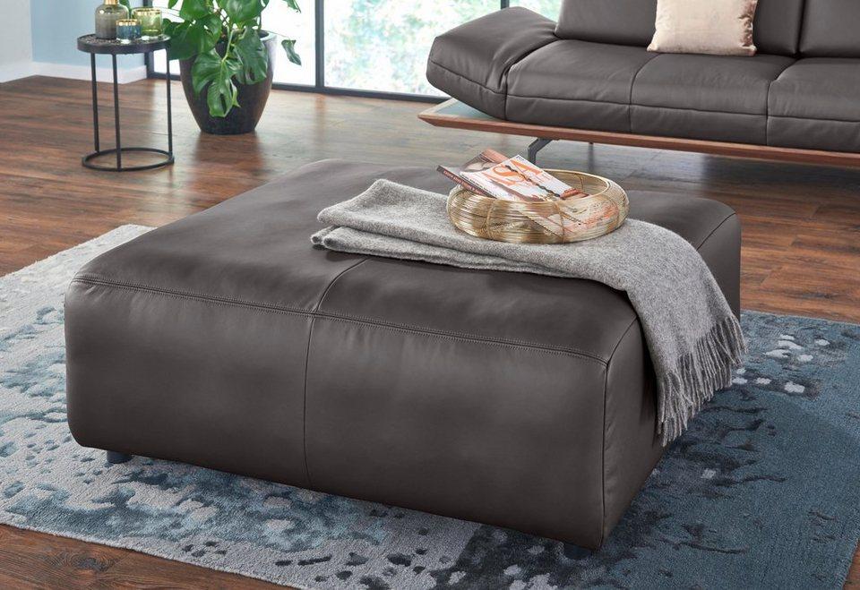 Couch Hocker Leder