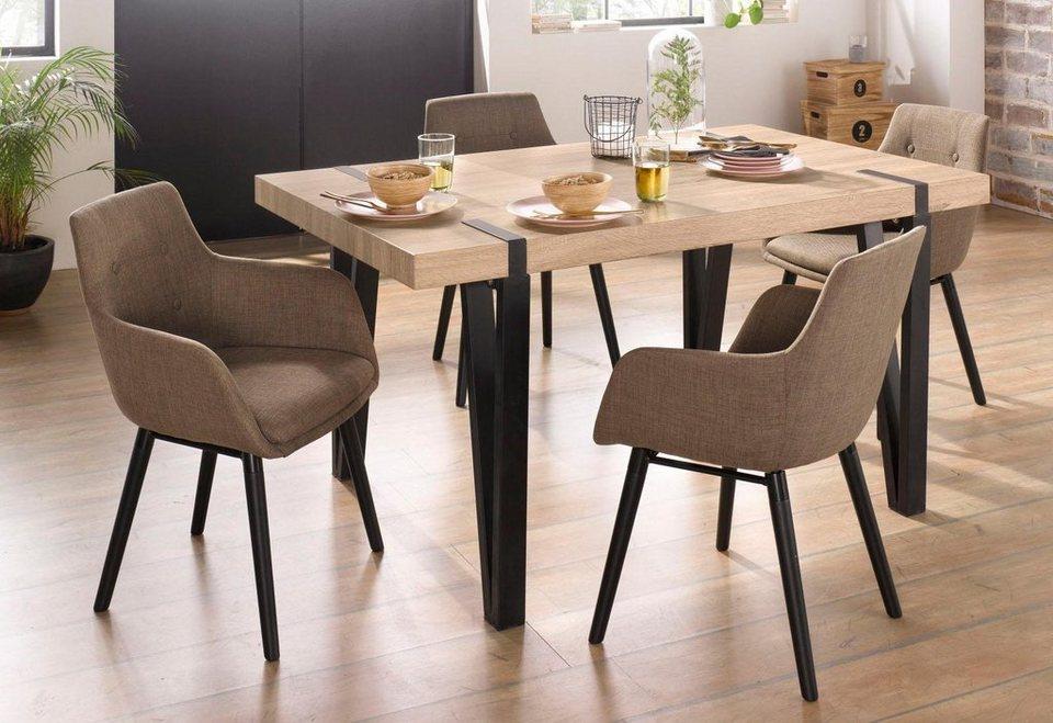 st hle bradford 2 st ck online kaufen otto. Black Bedroom Furniture Sets. Home Design Ideas