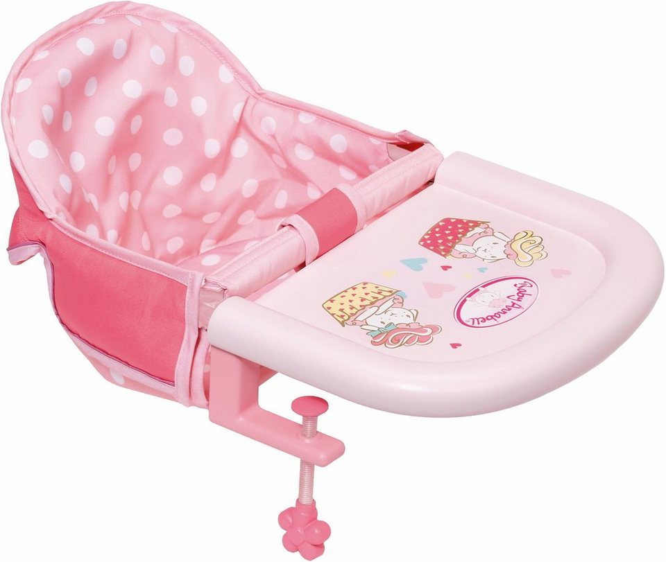 zapf creation puppen tischsitz baby annabell otto. Black Bedroom Furniture Sets. Home Design Ideas