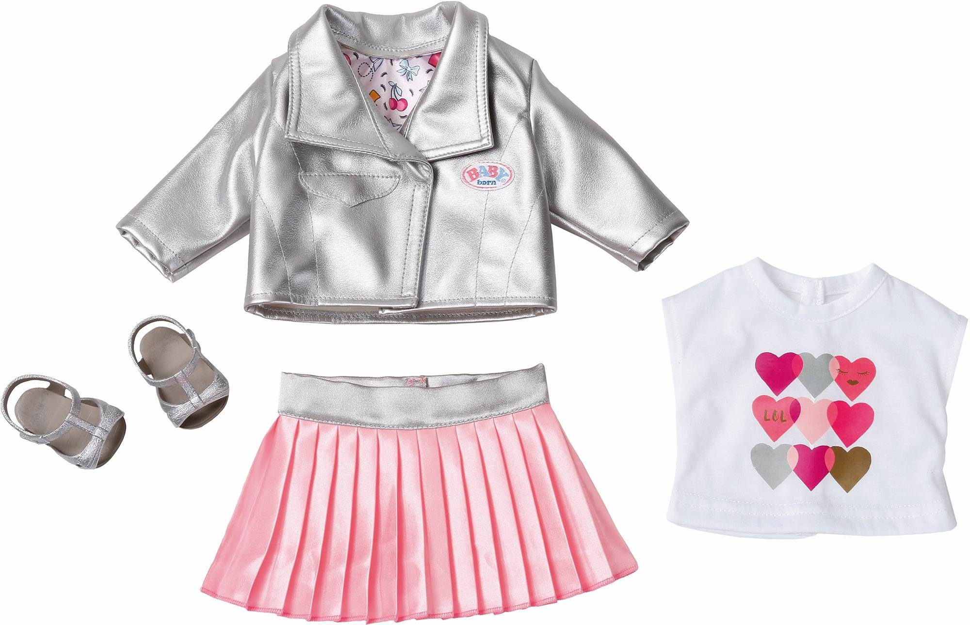 Zapf Creation Puppenkleidung, »BABY born® Deluxe Trendsetter«