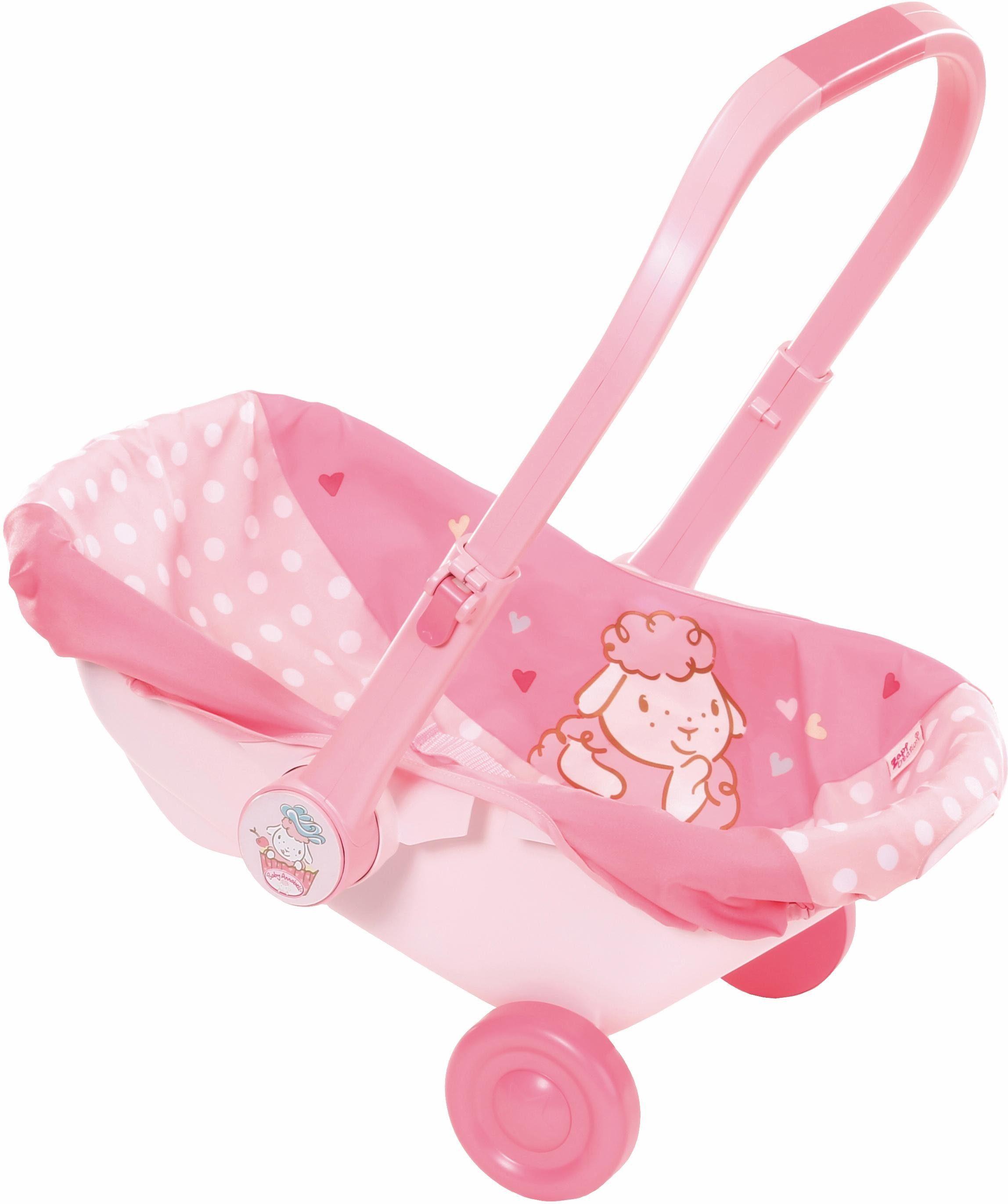 Zapf Creation Puppen Babyschale mit Rädern, »Baby Annabell®«