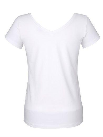 Alba Moda Shirt mit Krokodildruck